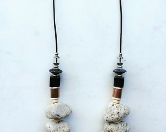 Pumice Stone Necklace