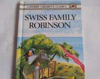 Swiss Family Robinson Ladybird Children's Classics Vintage book 1980s