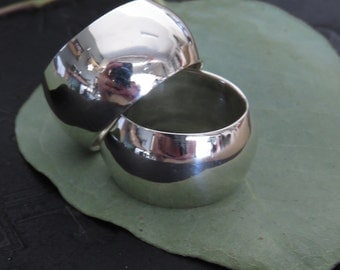 Heavy Solid Sterling Silver Ring