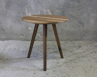 small ida - side table, occasional table, stool - Walnut