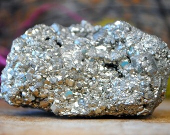 Pyrite Mineral Crystal Cluster - 1043.883