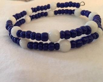 Cobalt and White