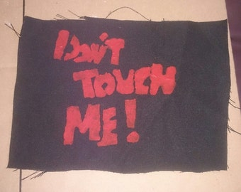 Don't Touch Me! Patch