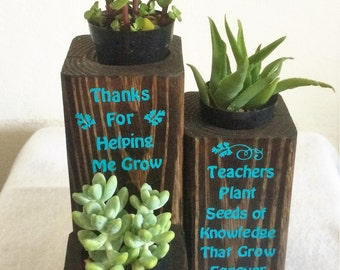 Personalized Succulent Planter