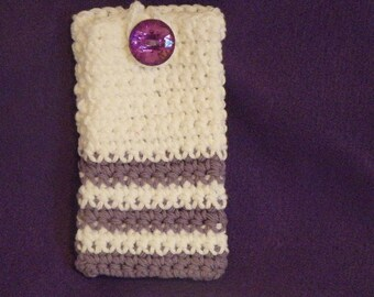 Hand Crocheted Cell Phone Case