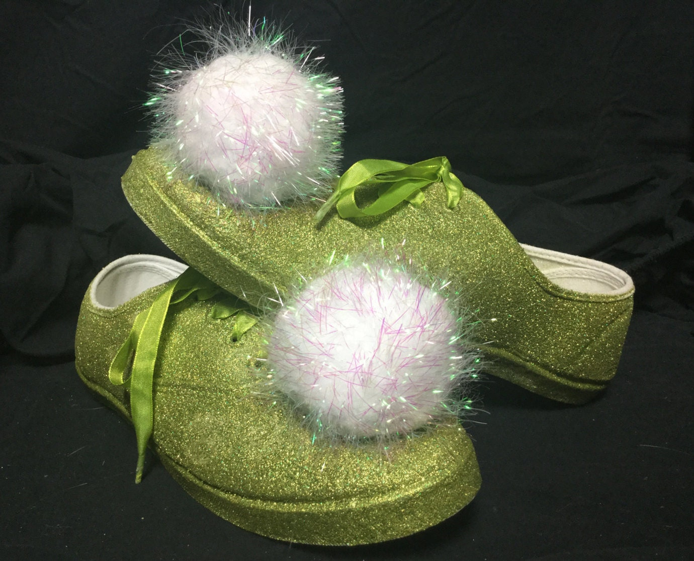 tinkerbell inspired disneybound shoes by