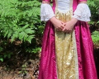 Handmade Medieval Fantasy Gown Princess/Lady