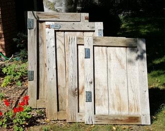 Antique Door~Vintage Old Door~Farm Doors~Price is for 1 of 3 Rustic Farm Shed Doors~Distressed Old Wood Door~Antique Doors~Exterior Door