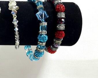 Swarovski varied bracelet
