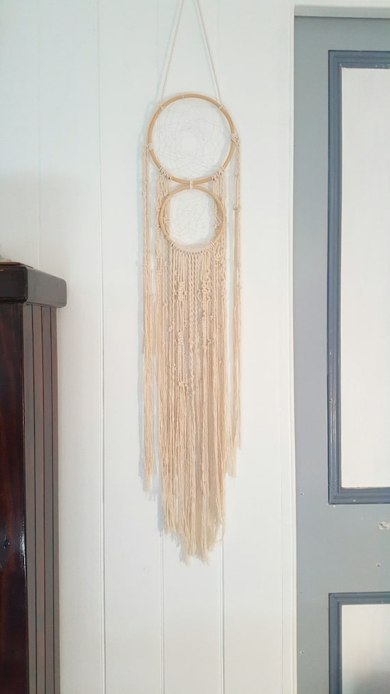 Modern Macrame Dream Catcher