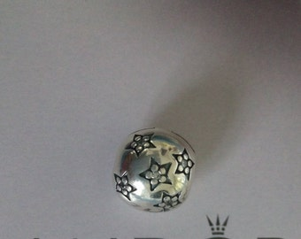 Pandora sterling silver 925 sterling silver starry night Star clip with cubic zirconia, for pandora bracelets and other