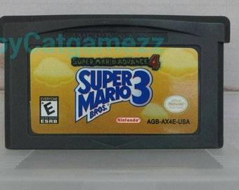 Super Mario advance 4 ( super mario bros 3 )