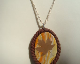 Leaf Necklace | Fall Necklace | Autumn Necklace | Thanksgiving