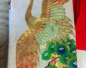 Gold Embroidered Wedding Kimono