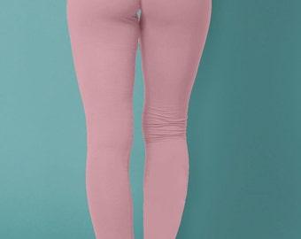 hot yoga pants women, yoga leggings women, women's yoga pants, light pink leggings, running leggings, athletic leggings, womens activewear