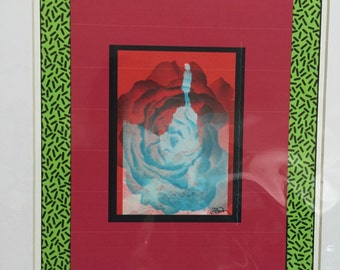 Roses are red digital collage