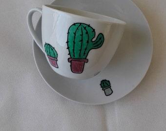 Hand-painted ceramic bowls