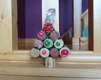 Wine Cork Christmas Tree, Wine Cork Tree Ornament