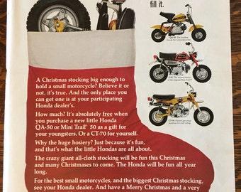 Honda Ad from 1972 LIFE magazine