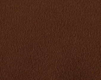 Suedecloth Fabric (Sepia Brown, sold by the yard)