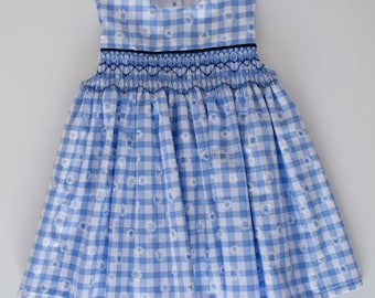 Hand-smocked Dress (6-12 months)