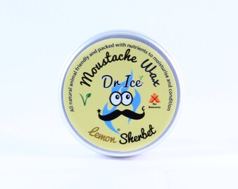 Premium Vegan Moustache Wax - Dr Ice - Unconventional Sweet Scents