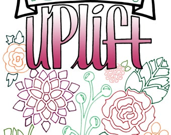 LDS Quotes For Coloring Uplift 22 Pgs Any Age Pages Mormon