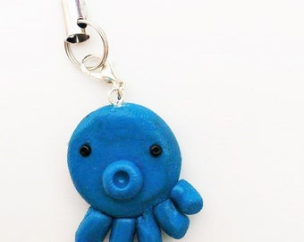 Octopus Cell Phone Charm