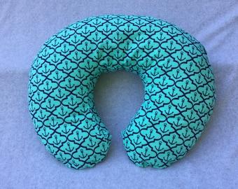 SALE! Nautical Anchor Nursing Pillow Cover - Fits Boppy Brand
