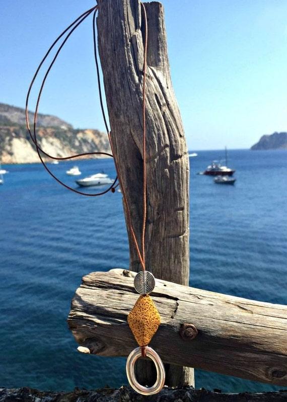 S'Alga Sun Necklace