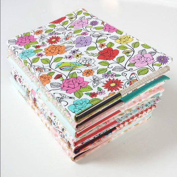 Easy Fabric Book Cover Patterns : Sewing pattern fabric book covers