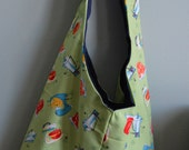Retro Kitchen Hobo Bag