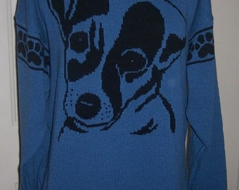 Custom Knit Jack Russell Terrier Sweater ****Create your own sweater see below*****