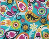 "Printed Felt Rectangle: Paisley (9""x12"")"