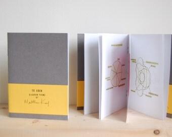 To Eden: a book of diagram poems | zine, book art, artists book