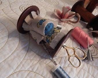 Vintage Spool Scissor organizer
