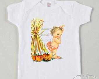 Halloween Infant Shirt -Pumpkin Patch Baby Tee - Retro Halloween Shirt - Boy Girl Baby Tee - Vintage Pumpkin Fall Tee - Autumn Pumpkin Shirt
