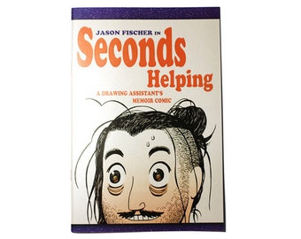 Seconds Helping limited edition shiny cover comic book