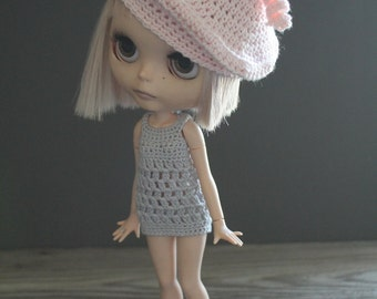 Blythe Crochet Curlicue Tam Beret Hat - Made to Order
