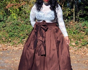 Plus Size Maxi Skirt - All Colors