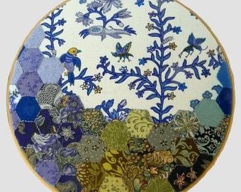 "Textile Wall Art ""Wonderland"""