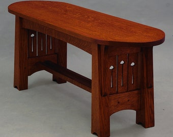 MACKINTOSH, ARTS and CRAFTS Coffee Table or Dressing Bench