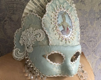 SOLD Custom Mask For Southern Charm