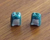 Japanese Kaeru Frog Beads Set of 2