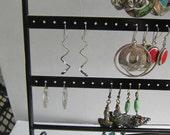 Sterling Silver 925 Spiral Zig Zag Modern Dangle earrings