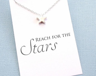Graduation Gifts | Inspirational Star Necklace, Graduation Gifts for Her, Student Gifts, Class of 2017, Graduation Gifts, Student Gift | G08
