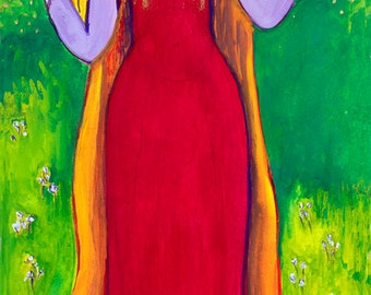 Olwen, Welsh Flower and Sun Goddess