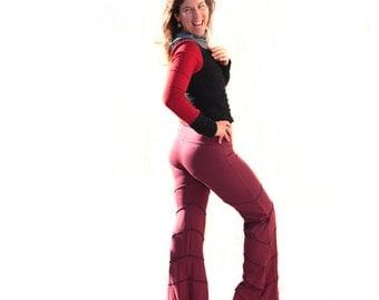 Autumn Leaf Dance Pants - Elven Pants, Fairy, Festival, Leafed Dance Pants