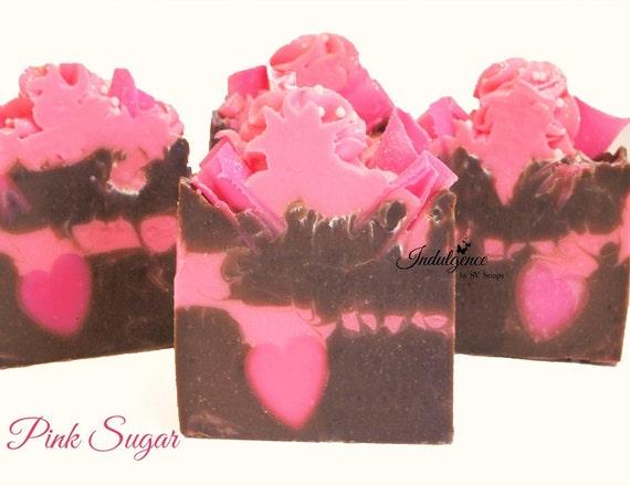 Pink Sugar Handmade Vegan Artisan Cold Process Soap