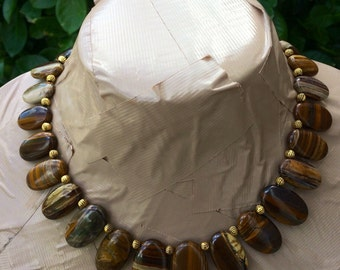 WONDER Tiger Eye choker necklace